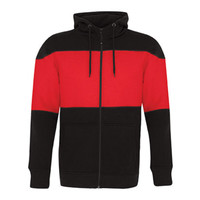 ATC™ PRO FLEECE FULL ZIP COLOUR BLOCK HOODED SWEATSHIRT