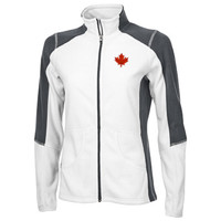 DECORATED: COAL HARBOUR® EVERYDAY FLEECE LADIES' COLOUR BLOCK JACKET