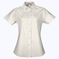 Coal Harbour® Easy Care Short Sleeve Ladies' Shirt