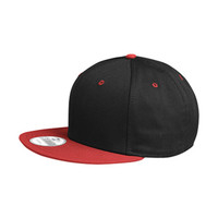 NEW ERA® FLAT BILL SNAPBACK COLOUR BLOCK CAP. NE4800