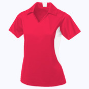 Coal Harbour® Snag Resistant Colour Block Ladies' Sport Shirt
