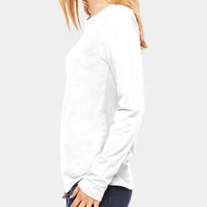 Ladies' Relaxed Jersey Long-Sleeve T-Shirt Thumbnail