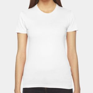 Ladies' Fine Jersey USA Made Short-Sleeve T-Shirt Thumbnail