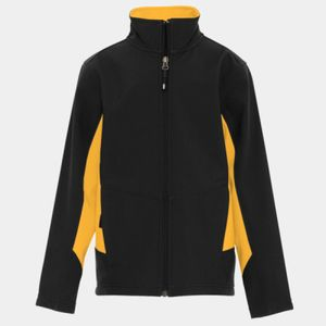 COAL HARBOUR EVERYDAY COLOUR BLOCK SOFT SHELL YOUTH JACKET Thumbnail