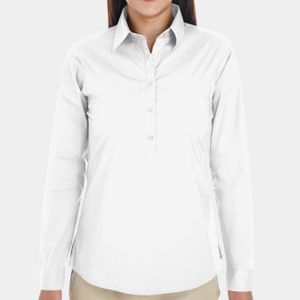 Ladies' Perfect Fit™ Half-Placket Tunic Top Thumbnail