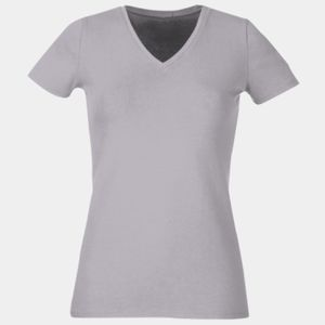 FOTL Ladies' 5 oz., 100% Heavy Cotton HD® V-Neck T-Shirt Thumbnail