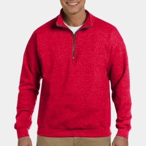 Heavy Blend™ 8 oz. Vintage Classic Quarter-Zip Cadet Collar Sweatshirt Thumbnail