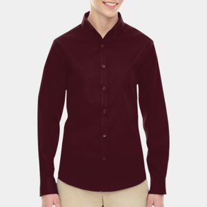 Operate  Ladies' Long Sleeve Twill Shirts Thumbnail