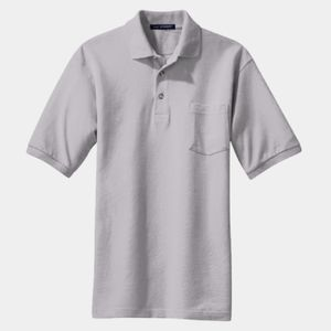 DryBlend™ 6 oz., 50/50 Jersey Polo with Pocket Thumbnail