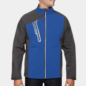 NORTH END Men's Terrain Colorblock Soft Shell with Embossed Print Thumbnail