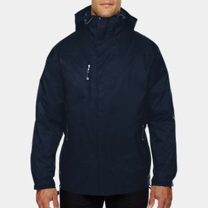 NORTH END Men's Performance 3-in-1 Seam-Sealed Hooded Jacket Thumbnail